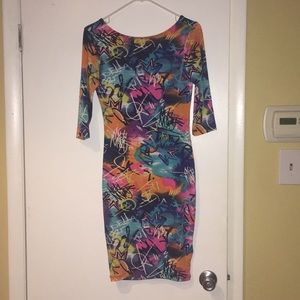 Nicki Minaj body con dress